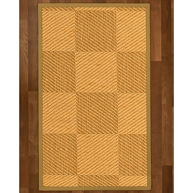 August Grove Luhrmann Sisal Sage Area Rug; 6' X 9'