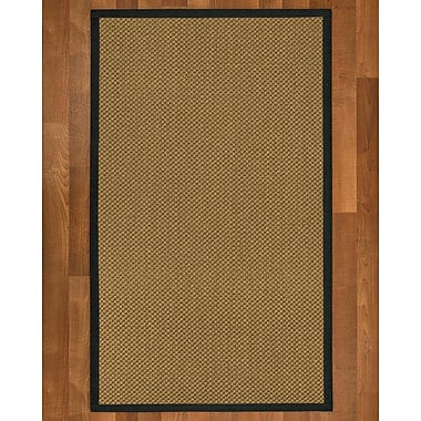 August Grove Loehr Sisal Onyx Area Rug; 5' X 8'