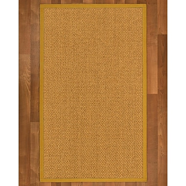 Gracie Oaks Andlau Sisal Tan Area Rug; 8' X 10'