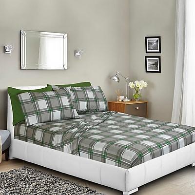 Loon Peak Dorset Printed Bed Sheet Set; Twin WYF078282025778