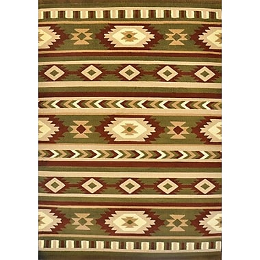 Loon Peak Edgewood Sage Area Rug; 3' x 5'
