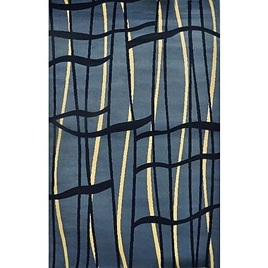 Orren Ellis JMill Light Blue Area Rug; Runner 2'7'' x 9'10''