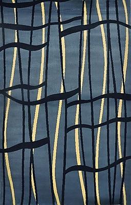Orren Ellis JMill Light Blue Area Rug; 7'11'' x 9'10''