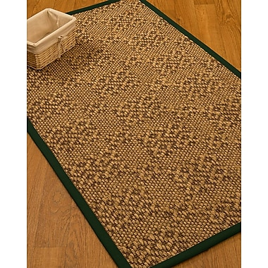 World Menagerie Camile Sisal Moss Area Rug; 3' X 5'
