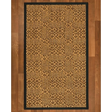 World Menagerie Camile Sisal Onyx Area Rug; 4' X 6'