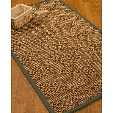 World Menagerie Camile Sisal Fossil Area Rug; 5' X 8'