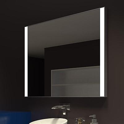 Orren Ellis Kristian Rectangle Illuminated Vanity Mirror