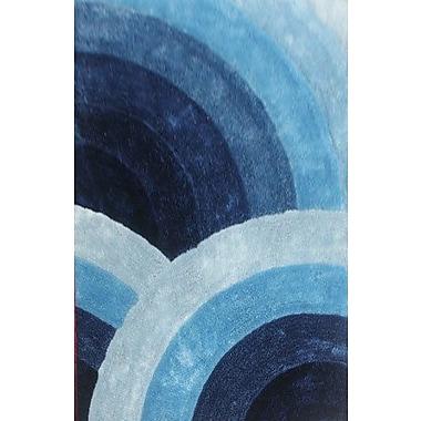 Orren Ellis Towonna Blue Area Rug; 7'11'' x 9'10''