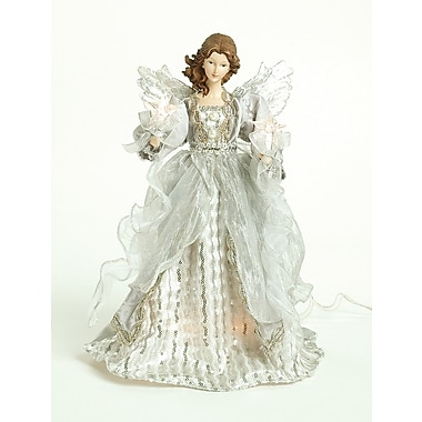 The Holiday Aisle Silver Angel Tree Topper