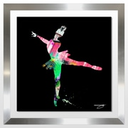 Ivy Bronx 'Dancer 1' Framed Graphic Art Print; 27.5'' H x 27.5'' W