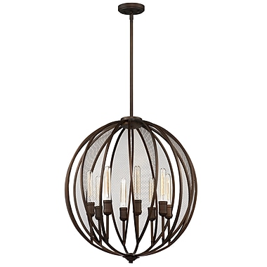 17 Stories LaKeshia 8-Light Globe Pendant