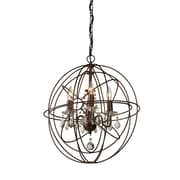 One Allium Way Ethelinde 4-Light Globe Pendant