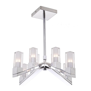 Orren Ellis Bhavna 8-Light Candle-Style Chandelier