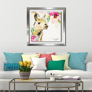 Ivy Bronx 'Lama' Framed Print; 39.5'' H x 39.5'' W