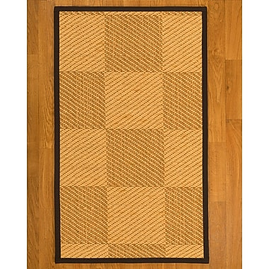 August Grove Luhrmann Sisal Fudge Area Rug; 4' X 6'