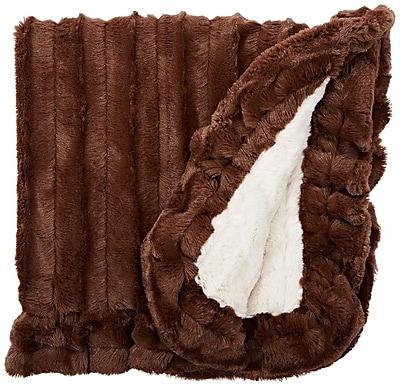 BessieBarnie Blanket Natural Beauty Dog Mat w/ Soft Fabric; Large (56'' W x 36'' D)