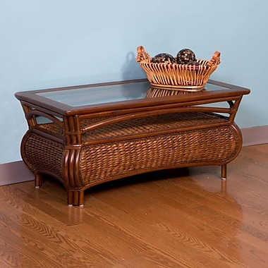 Bayou Breeze Brisa Coffee Table; Sienna