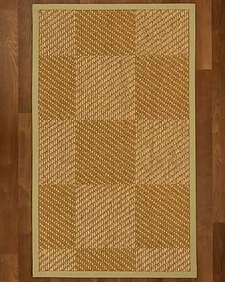 Bayou Breeze Adley Sisal Sand Area Rug; 5' X 8'
