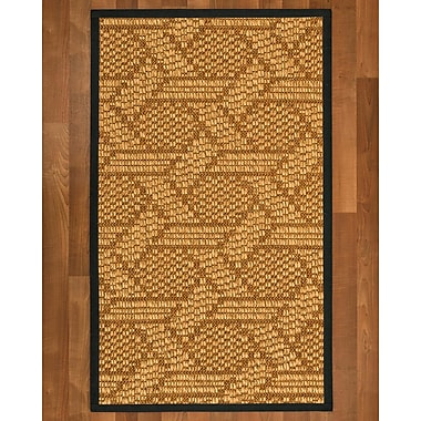 Bayou Breeze Aalin Sisal Onyx Area Rug; 9' X 12'