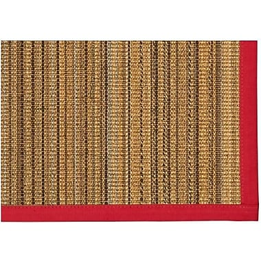 Bay Isle Home Dover Sisal Red Area Rug; 4' X 6'