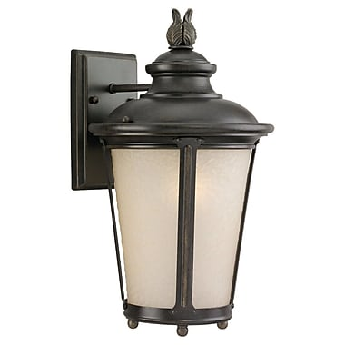 Darby Home Co Islip 1-Light Outdoor Wall Lantern; Medium