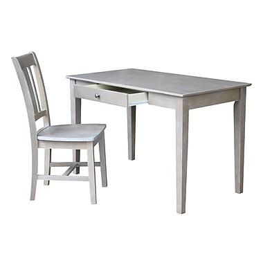Highland Dunes Bert Writing Desk; 30'' H x 48'' W x 26'' D
