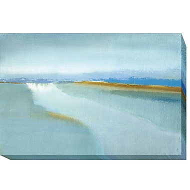 Highland Dunes 'Flow' Oil Painting Print on Wrapped Canvas; 30 in. H x 45 in. W