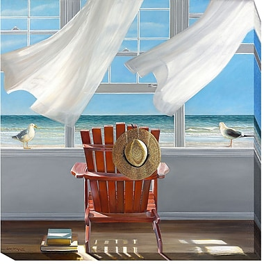 Highland Dunes 'Lookout' Oil Painting Print on Wrapped Canvas; 36 in. H x 36 in. W