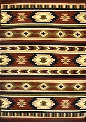 Loon Peak Ellison Brown Area Rug; 2' x 3'