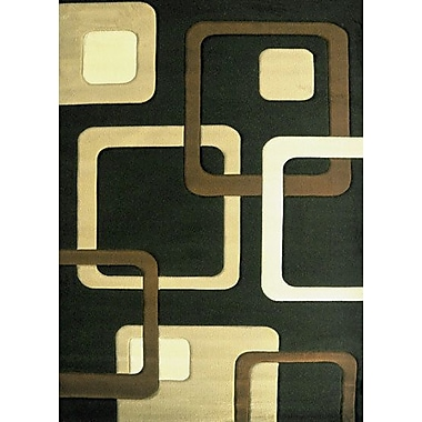 Orren Ellis Kirstin Brown Area Rug; 7'11'' x 9'10''