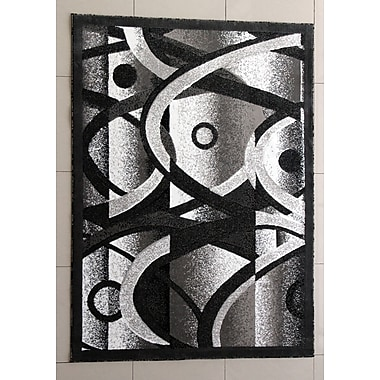 Orren Ellis Decory Dark Gray Area Rug; Runner 2'7'' x 9'10''