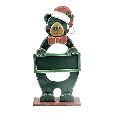 The Holiday Aisle Wooden Bear Figuring