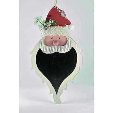 The Holiday Aisle Santa Head Shaped Ornament