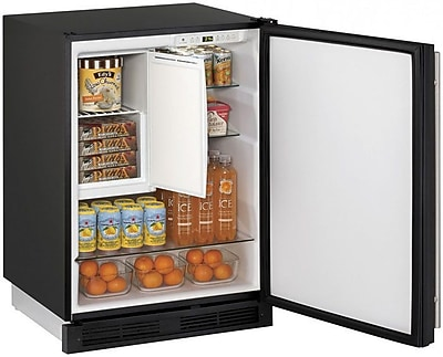 Image of 1000 Series Reversible Stainless Steel 24-inch 4.2 cu. ft. Undercounter Refrigeration w/ Freezer