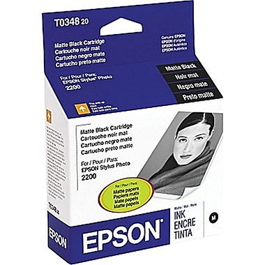 Epson T034 Matte Black Ink Cartridge (T034820)