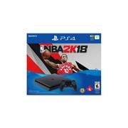 PlayStation 4 1TB Slim Console, NBA 2K18 Bundle Edition
