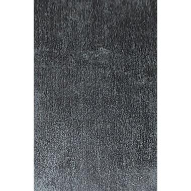 Zoomie Kids Dogwood Dark Gray Area Rug; 2' x 3'