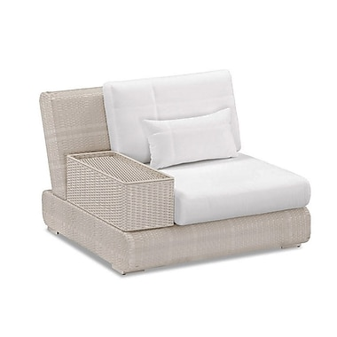 100 Essentials Sumba Single Sectional Piece w/ Cushions; Sunproof Taupe