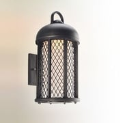 August Grove Schaffen 1-Light Outdoor Sconce; Medium