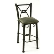Fleur De Lis Living Chaucer Bar Stool; Sage Green