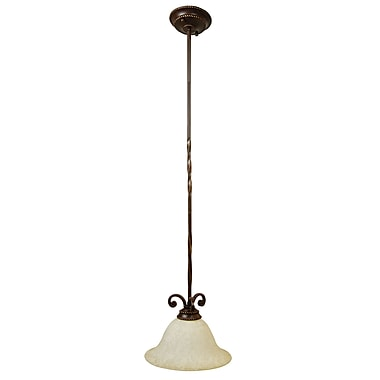 Fleur De Lis Living Kellie 1-Light Pendant