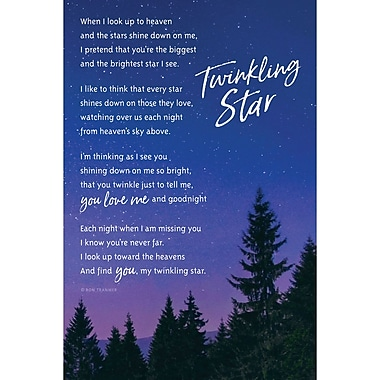 East Urban Home 'Twinkling Star' Textual Art on Wood
