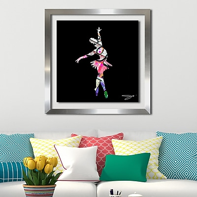 Ivy Bronx 'Dancer 3' Framed Graphic Art Print; 27.5'' H x 27.5'' W