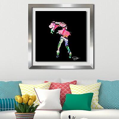 Ivy Bronx 'Dancer 2' Framed Graphic Art Print; 39.5'' H x 39.5'' W