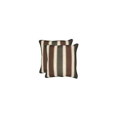 Loon Peak Fionn Outdoor Throw Pillow (Set of 2); 20'' x 20''