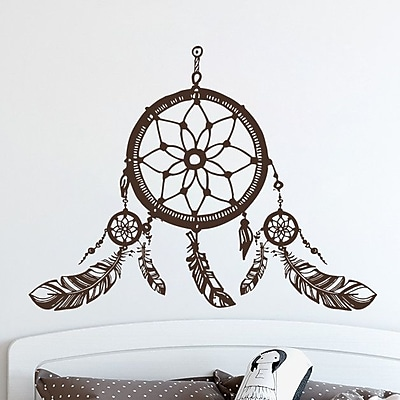 Decal House Dreamcatcher Wall Decal; Turquoise