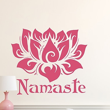Decal House Mandala Wall Decal; Yellow