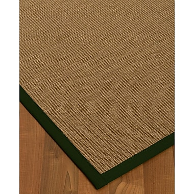 Bay Isle Home Jamesville Sisal Moss Area Rug; 4' X 6'