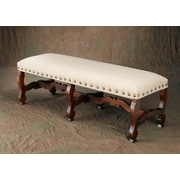 Darby Home Co Septimus Linen Bench