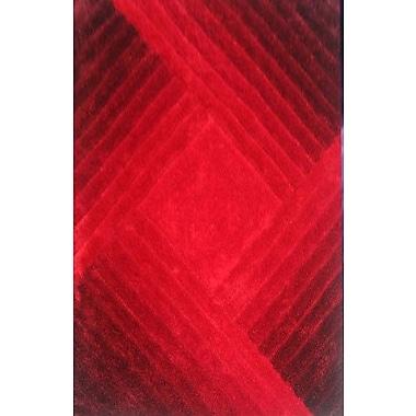 Orren Ellis Bita Red Area Rug; 5'3'' x 7'2''